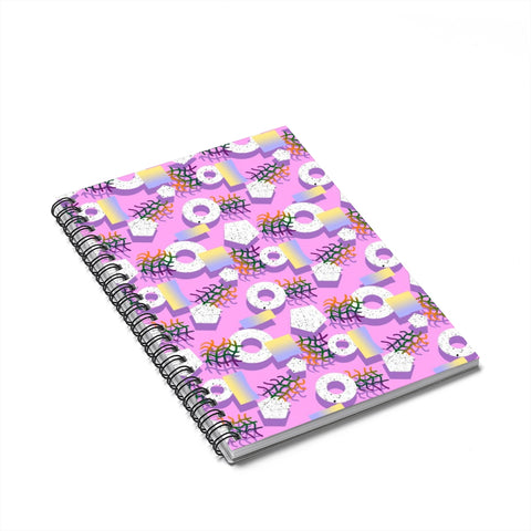 Tic-Tac Woah Spiral Notebook - Ruled Line