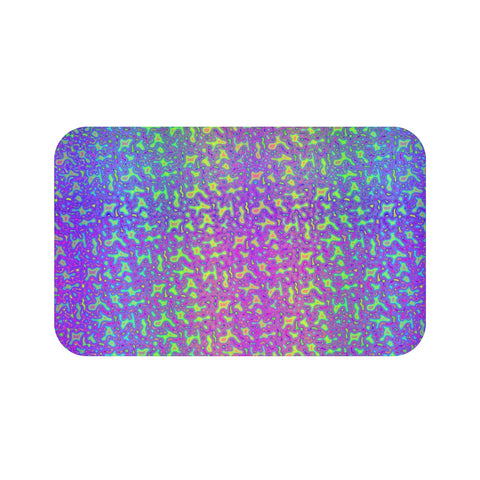 Psychedelic Mess Bath Mat