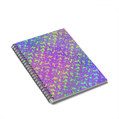 Psychedelic Mess Spiral Notebook - Ruled Line
