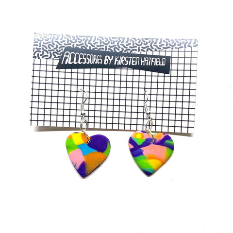 Disco Hook Earrings 2