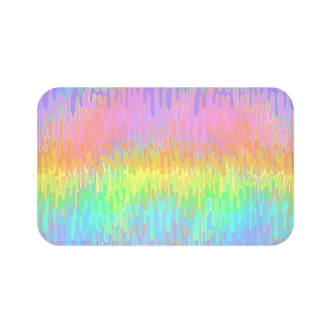 Rainbow Melt Bath Mat