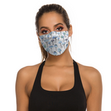 Blue Shroom Reusable Mask