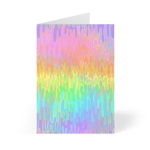 Rainbow Melt Greeting Cards (8 pcs)