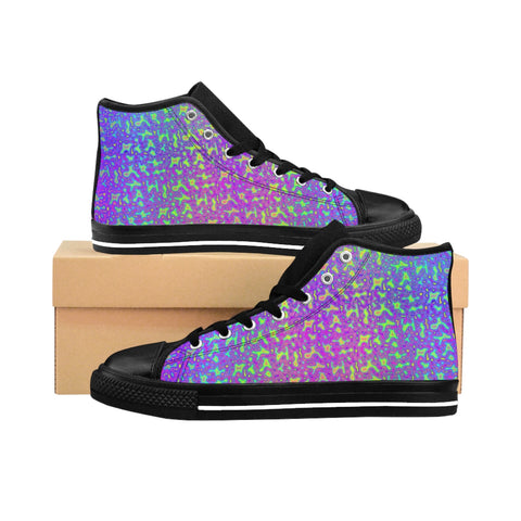 Psychedelic Mess High-top Sneakers