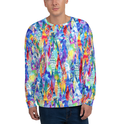Painted Forest Unisex Sweatshirt