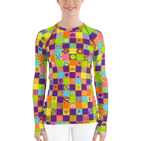 Disco Squares Long Sleeve Shirt