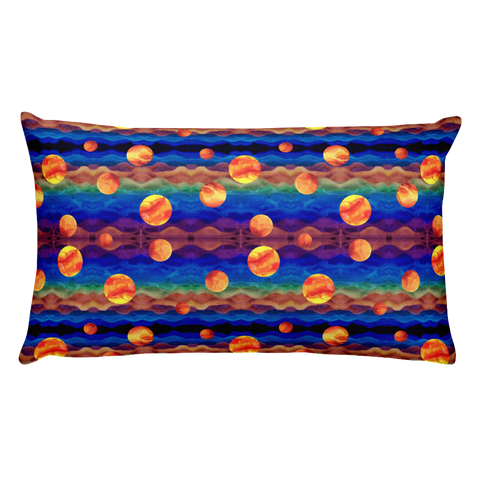 Planet Plasma Rectangular Pillow