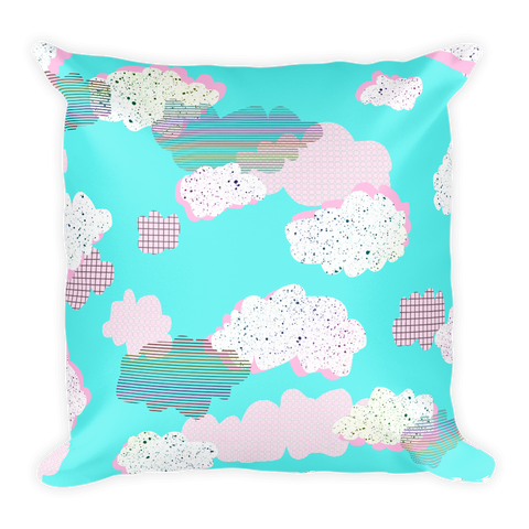 Cloudy Daze Square Pillow