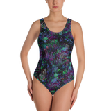 Space Shrooms One-Piece Swimsuit