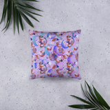Bubbly Square Pillow