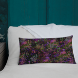 Sunset Shrooms Rectangular Pillow