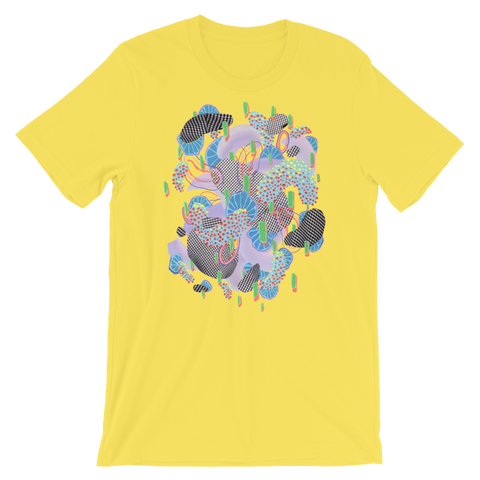 Yellow Organism Short-Sleeve Unisex T-Shirt