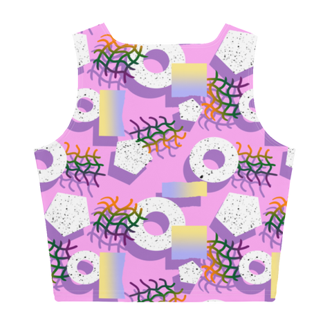 Untitled Sublimation Cut & Sew Crop Top