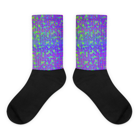 Psychedelic Mess Socks