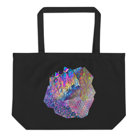 Crystal Cluster XL tote bag