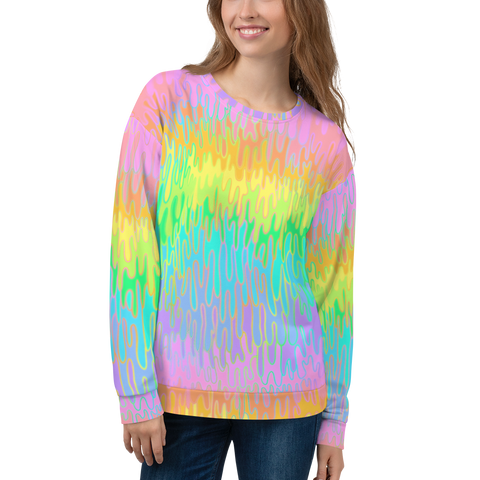 Rainbow Melt Unisex Sweatshirt