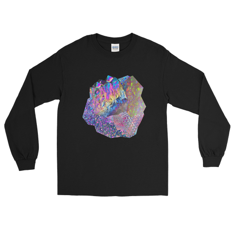 Crystal Cluster Long Sleeve Shirt