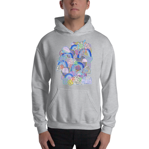 Grey Organism Hooded Sweatshirt