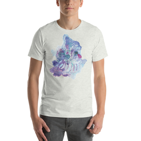 Light grey Organism Short-Sleeve Unisex T-Shirt