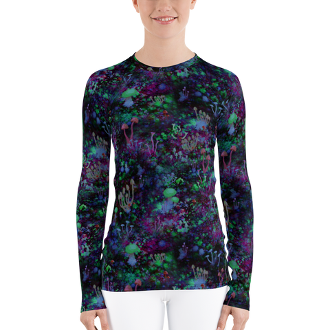 Space Shrooms Long Sleeve Shirt