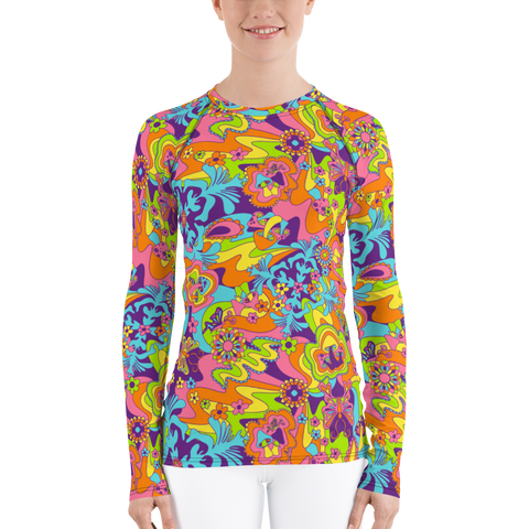 Groovy Shrooms Long Sleeve Shirt