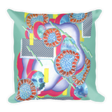 Rectangle Jelly Organism Square Pillow