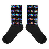 Inverted Ink Dots Socks