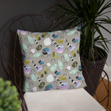 Sticks and Stones Square Pillow