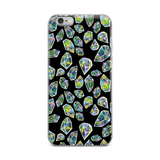 Cosmic Crystals iPhone Case