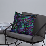 Space Shrooms Square Pillow