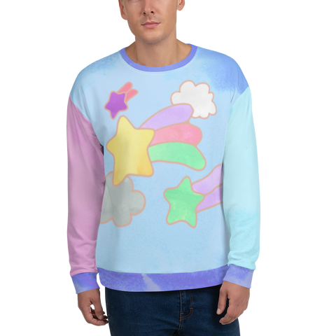 Blue Dreamy Sweater Unisex Sweatshirt