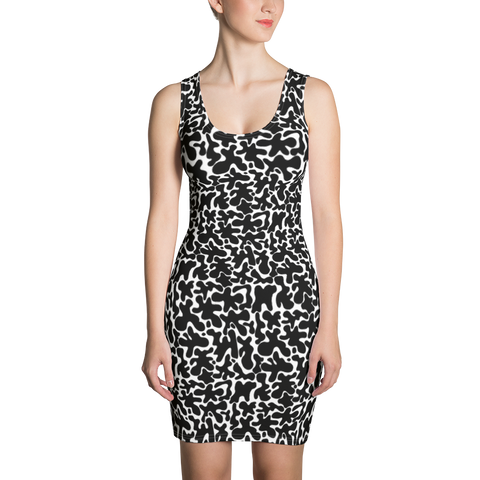 Rorschach Rodeo Sublimation Cut & Sew Dress