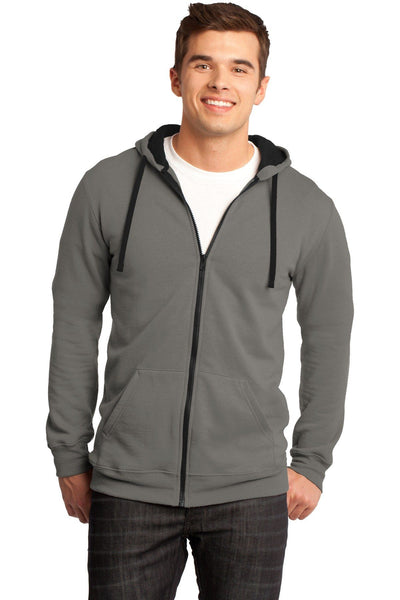 District The Concert Fleece Full-Zip Hoodie - Threads With An Edge LLC.