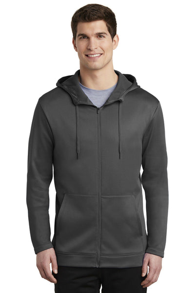 Nike Therma-FIT Full-Zip Fleece Hoodie - Threads With An Edge LLC.