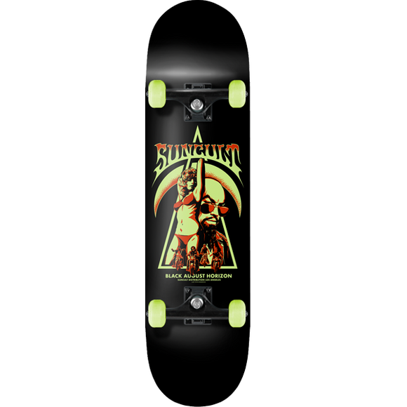 Black August Skateboard Deck