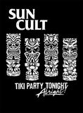 TIKI PARTY TONIGHT T-Shirt (Black)