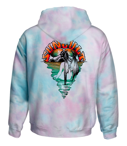 WADING WOMAN COTTON CANDY HOODIE