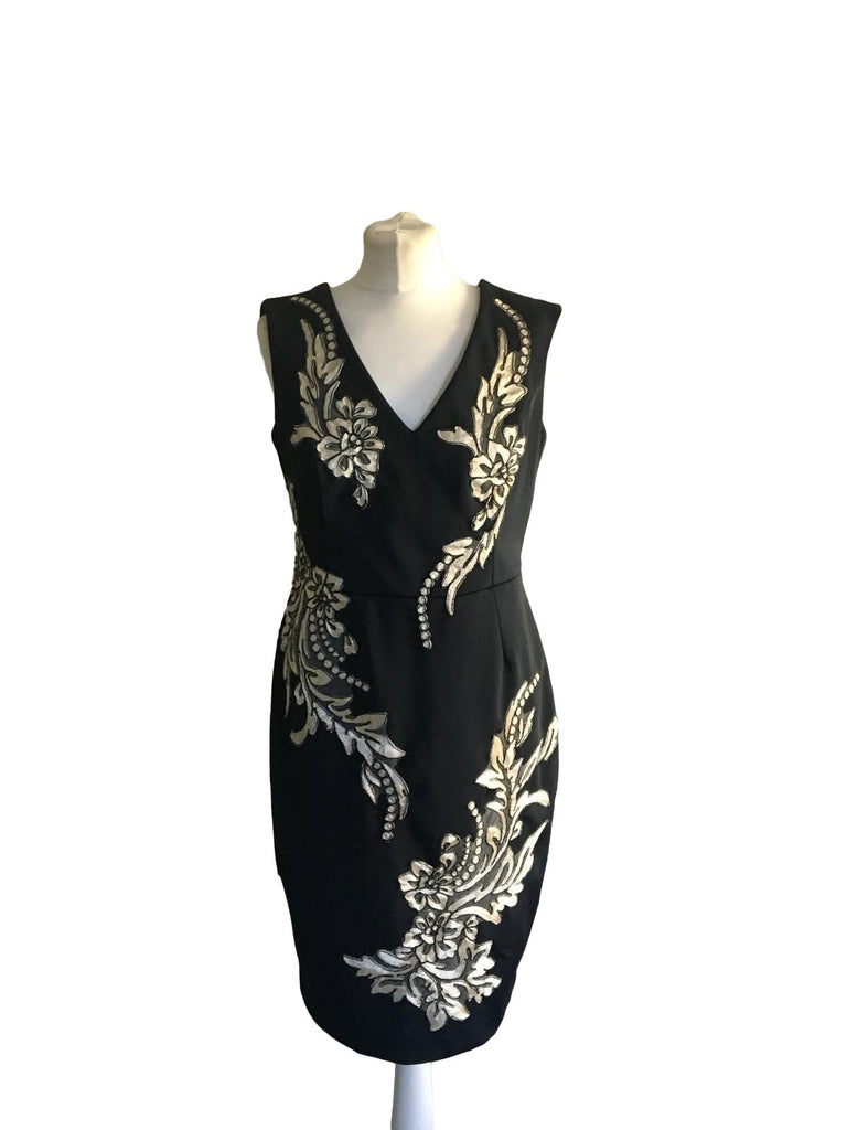 Phase Eight Sleeveless Dress - Size 14 - Preloved