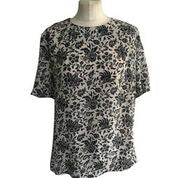 Hobbs Ladies Floral Printed Blouse - Size - 10 - Preloved