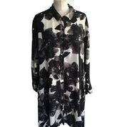 Masai Printed Shirt Dress - Size -Medium - Preloved
