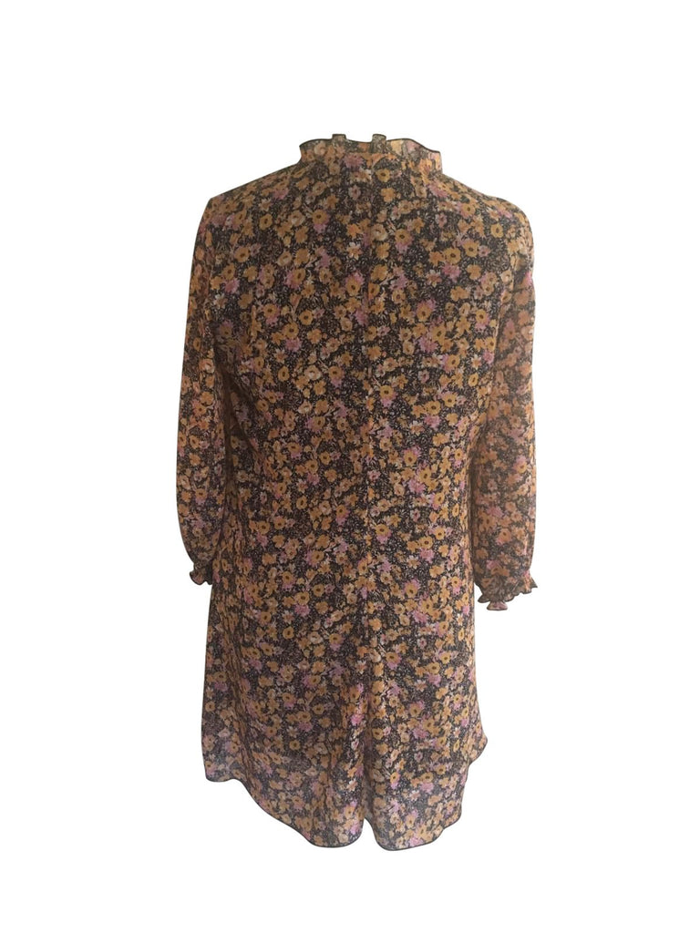 Zara Woman Floral Dress - Size Medium - Preloved