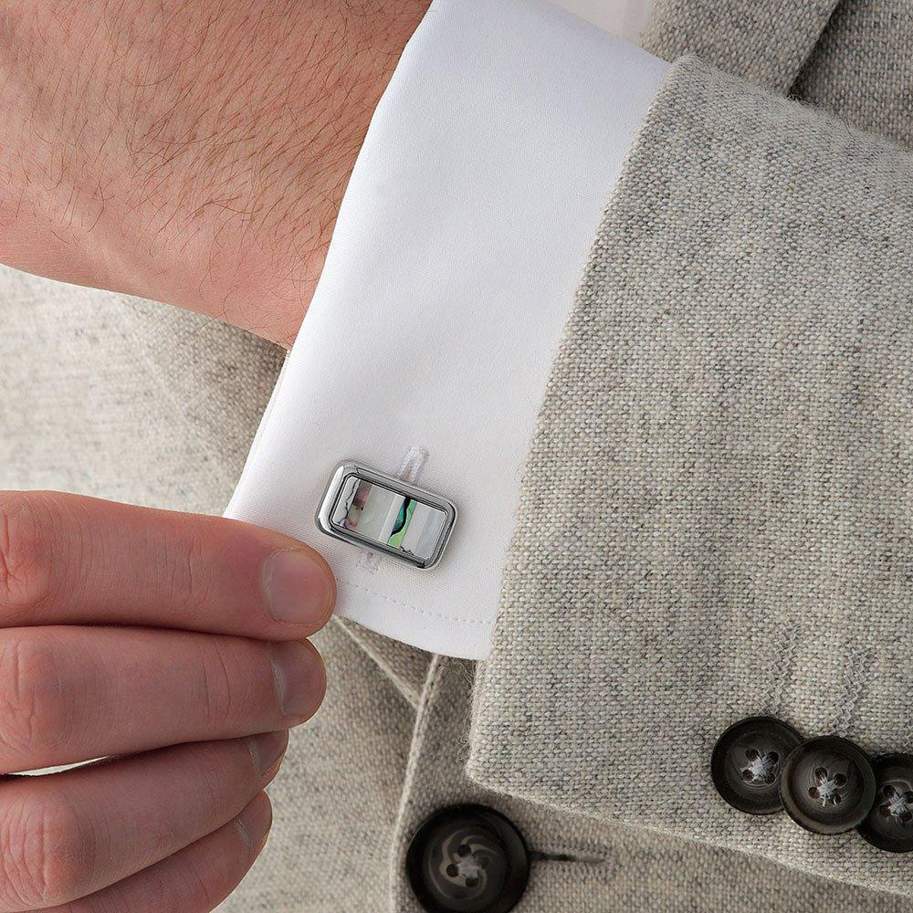 Howlite Men's Cufflinks - New in Box