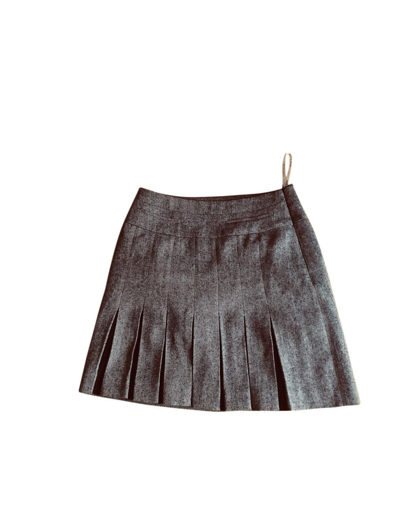 Karen Millen Grey Skirt - Size 8 -Preloved