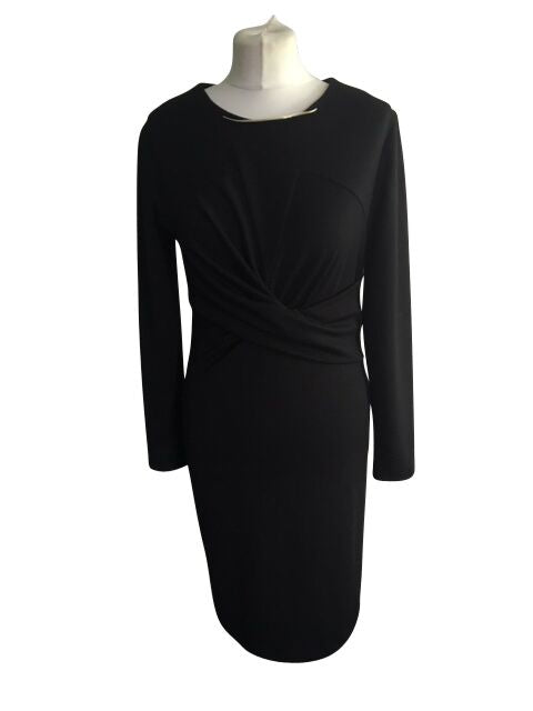Rolanda Boutique Black Dress - Size Large - Preloved