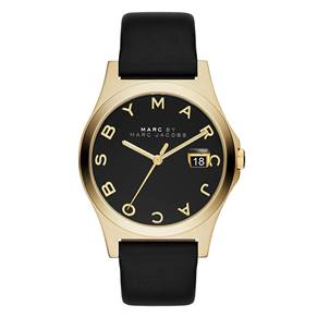 Marc Jacobs Ladies Gold Tone Slim Wrist Watch