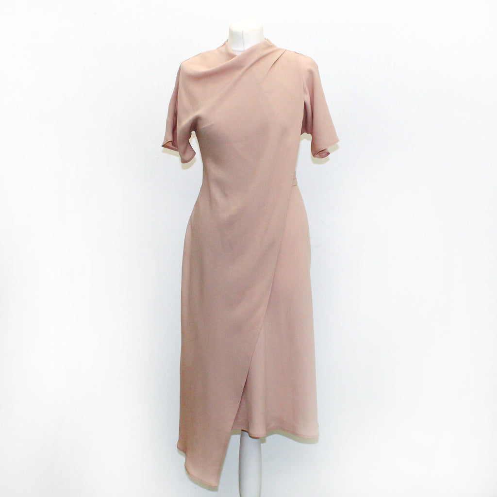 Top Shop Ladies Nude Dress - Size 8 - New With Tags