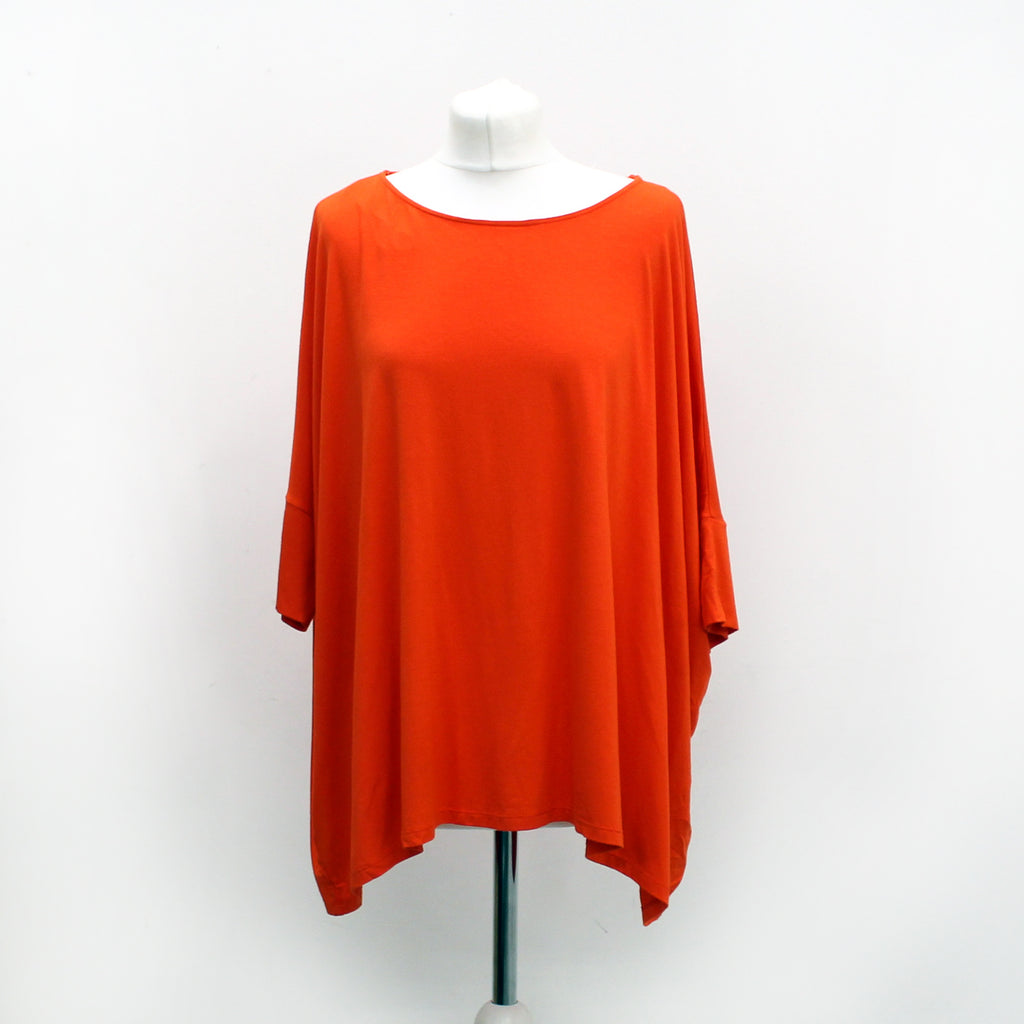 Somerset By Alice Somerset OverSized Orange Top -Size Medium- New With Tags