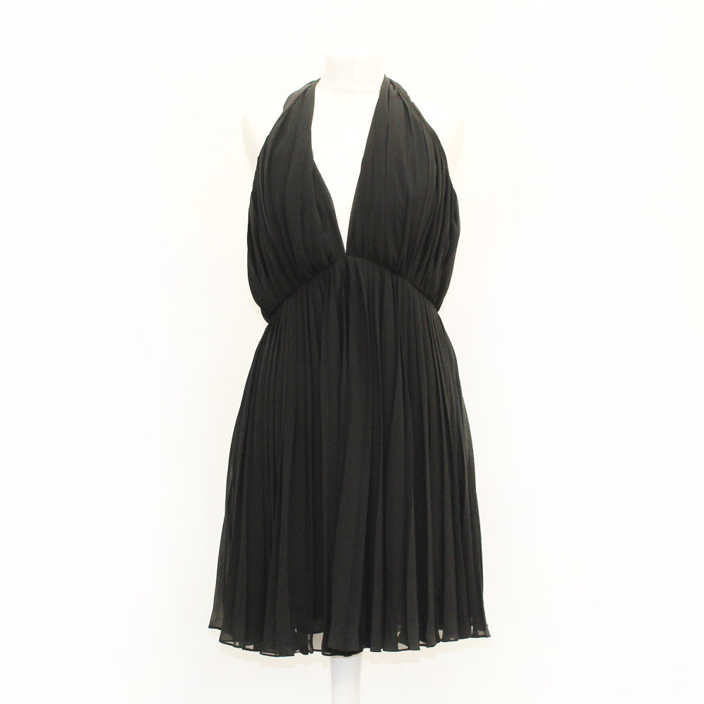 Halston Heritage Black Dress - Size 10 - New With Tags