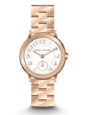 Marc Jacobs Ladies Riley Watch Rose Gold Tone - New in Box