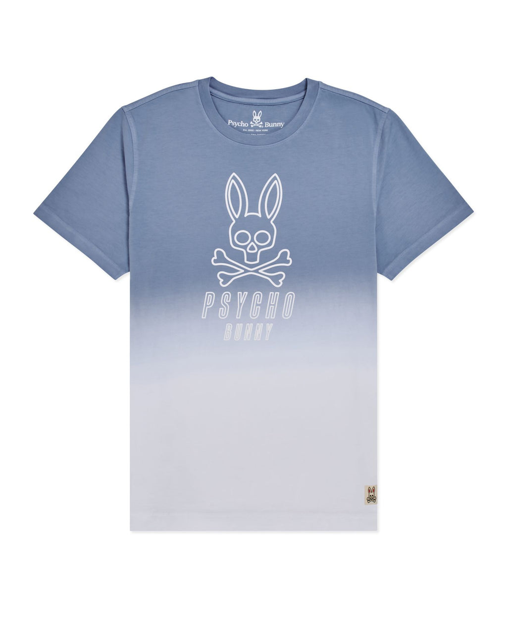 Psycho Bunny Boy's Fairbanks Graphic Tee - Lapis Blue